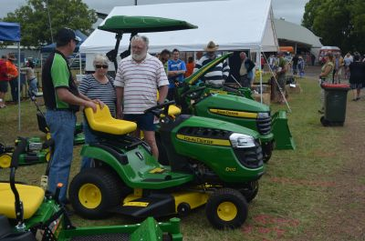 John Deere display at Malanda Small Farms Field Day 2012